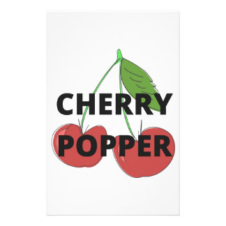 Cherry Popper Humor Design Illustration Collection Stationery