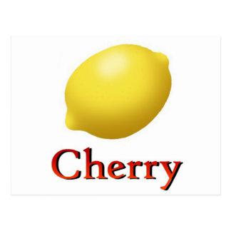 Cherry Post Card