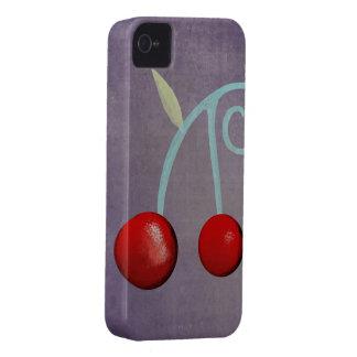Cherry Purple Case Iphone 4 - 4s