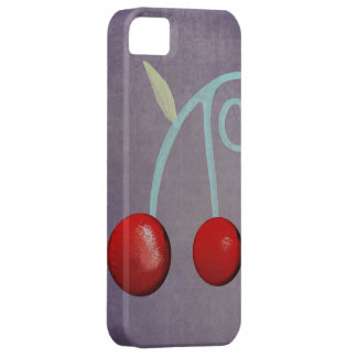 Cherry Purple Case Iphone 5 -