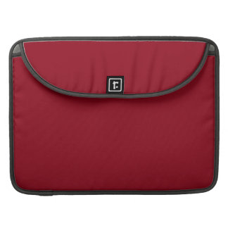 CHERRY RED (a solid fruity color) ~~ MacBook Pro Sleeve