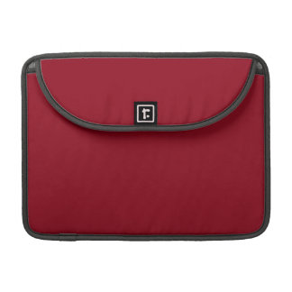 CHERRY RED (a solid fruity color) ~~ Sleeve For MacBooks