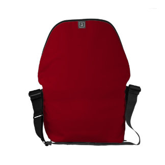 CHERRY RED (a solid fruity color) ~~ Small Messenger Bag