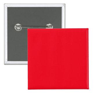 Cherry Red Bright Fashion Color Trend 2014 Custom 2 Inch Square Button