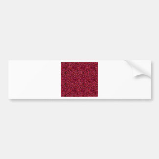 Cherry Red Bumper Sticker