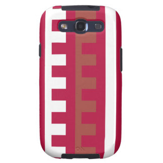 Cherry Red Combs Tooth Galaxy SIII Cases