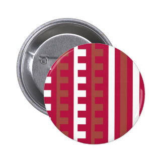 Cherry Red Combs Tooth Pinback Button