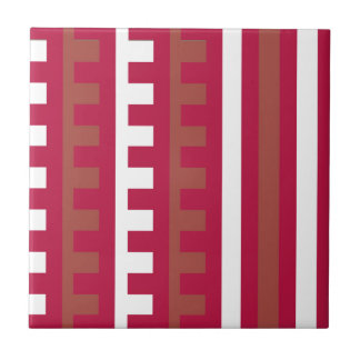 Cherry Red Combs Tooth Tiles