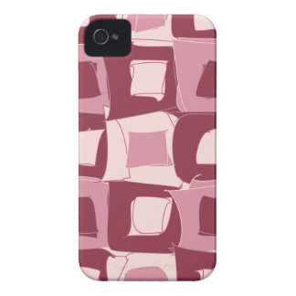 Cherry Red Fruit Abstract Design Pattern iPhone 4 Case-Mate Case
