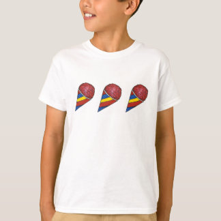 Cherry Red Sno Cone Snocone Frozen Summer Treats T T-Shirt