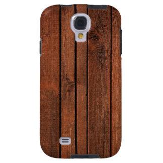 Cherry redwood galaxy s4 case