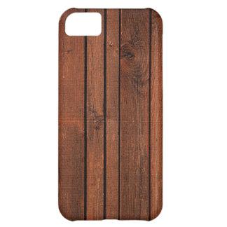 Cherry redwood iPhone 5C case