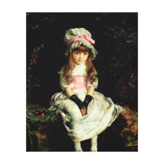 Cherry Ripe, 1879 Canvas Print