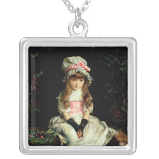 Cherry Ripe, 1879 Silver Plated Necklace