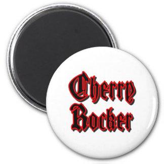 Cherry Rocker - White Magnet #2