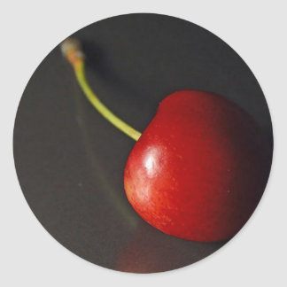 Cherry Round Sticker