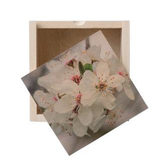 Cherry Sakura Blossom Wooden Keepsake Box