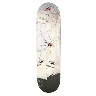 cherry skateboard deck