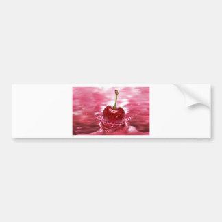 Cherry Splash Bumper Stickers