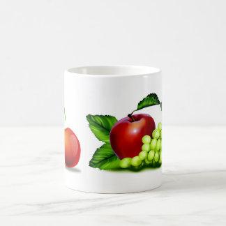 Cherry Splash Fruit Destiny Gifts Classic White Coffee Mug