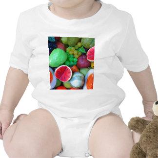 Cherry Splash Fruit Destiny Gifts Baby Bodysuit