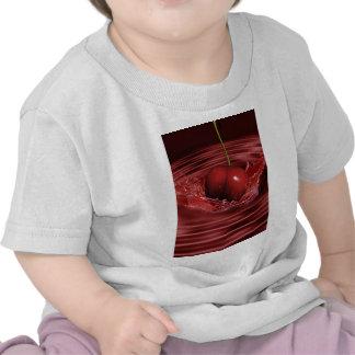 Cherry Splash Fruit Destiny Gifts Tshirt