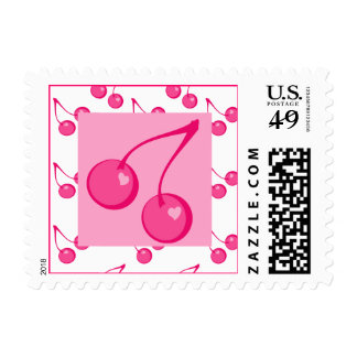 Cherry Sweet-Hearts Postage
