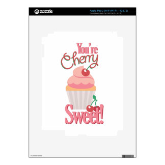 Cherry Sweet iPad 3 Decals