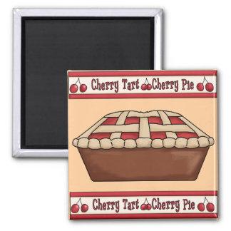 Cherry Tart Cherry Pie Magnet