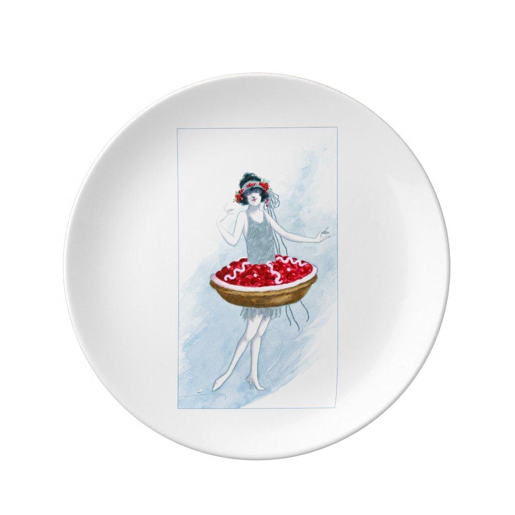 Cherry Tart Plate