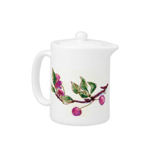 Cherry Teapot by Alexandra Cook
