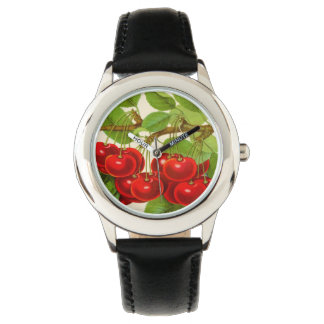 Cherry time: an adapted 1901 illustration watch
