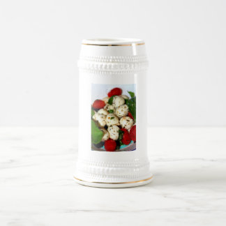 Cherry Tomato and Mozzarella Salad Beer Stein