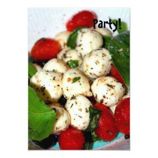 Cherry Tomato and Mozzarella Salad Card