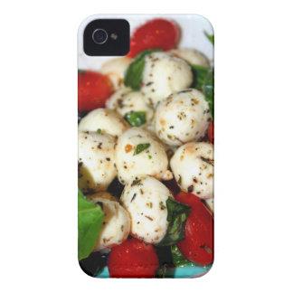 Cherry Tomato and Mozzarella Salad iPhone 4 Cover