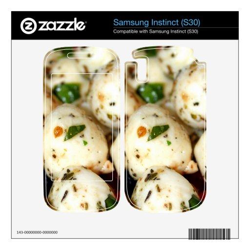 Cherry Tomato and Mozzarella Salad Samsung Instinct Skins