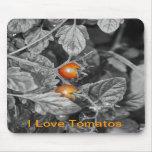 cherry tomato mouse pad
