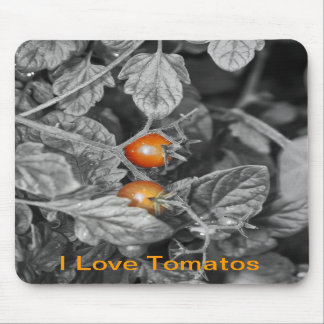 cherry tomato mouse pad