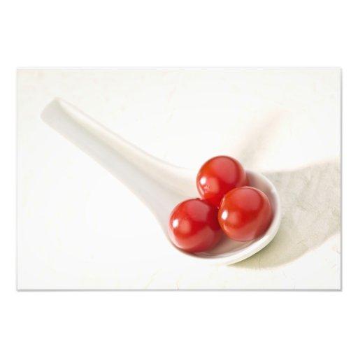 Cherry tomatoes 3 photographic print