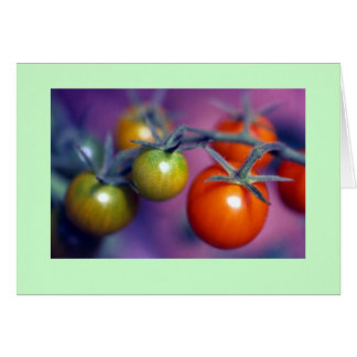 """Cherry Tomatoes"" Card"