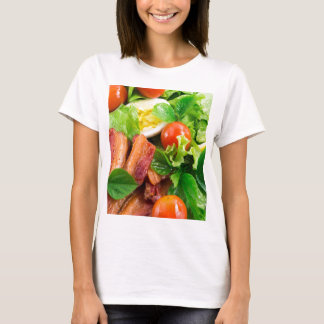 Cherry tomatoes, herbs, olive oil, eggs and bacon T-Shirt