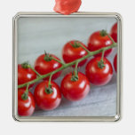 Cherry tomatoes on the vine For use in USA Christmas Ornaments