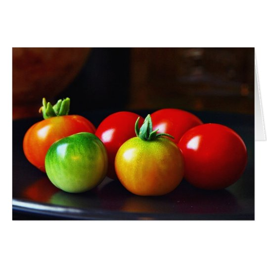 Cherry Tomatos Card