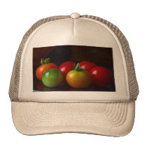 cherry-tomatos trucker hat