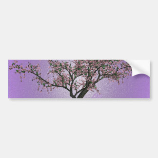 Cherry Tree Art Bumper Sticker