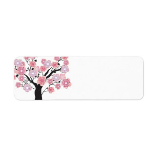 Cherry tree Avery Label Return Address Label