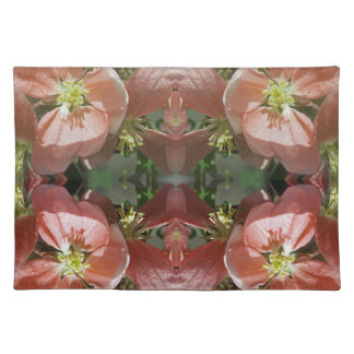 Cherry tree blossom pattern placemat