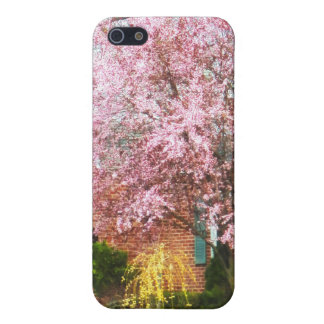 Cherry Tree By Brick House iPhone 5 Cover