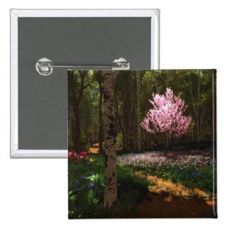 Cherry Tree Concerto Button