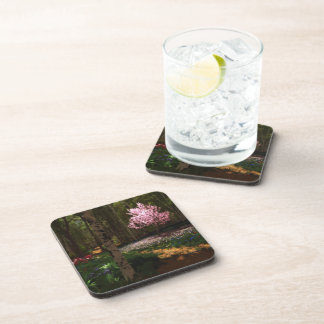 Cherry Tree Concerto Cork Coaster